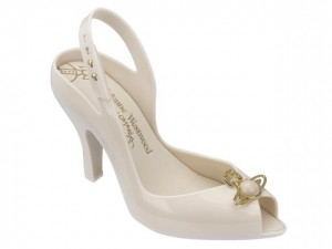 MELISSA - VIVIENNE WESTWOOD ANGLOMANIA  LADY DRAGON  XIV  FW17 BEIGE SE19  .